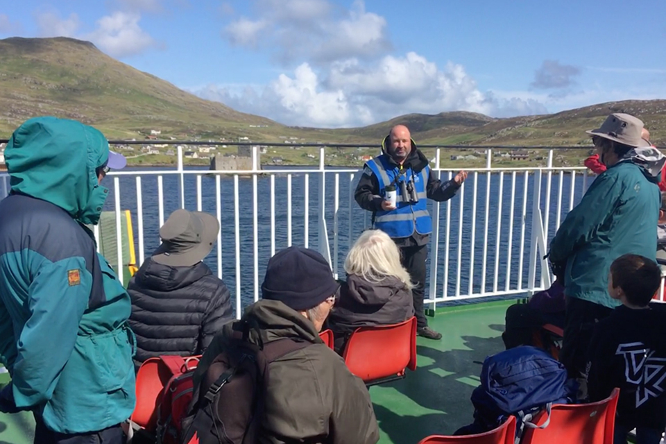 Hebridean Minicruise launches with a splash!